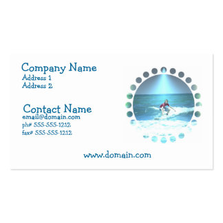 Catching the Surf Business Card
