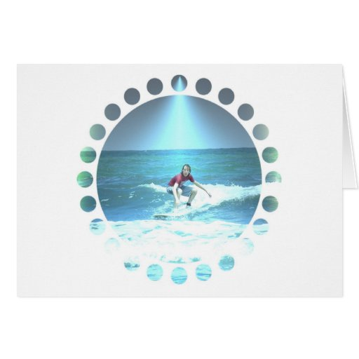 Catching the Surf Greeting Card