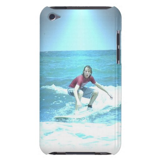 Catching the Surf iTouch Case Barely There iPod Case