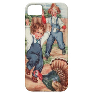 Catching The Thanksgiving Day Turkey iPhone SE/5/5s Case