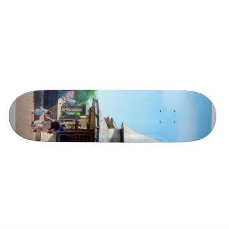 Catching the Train Skateboard Deck