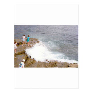 Catching the Waves Postcard