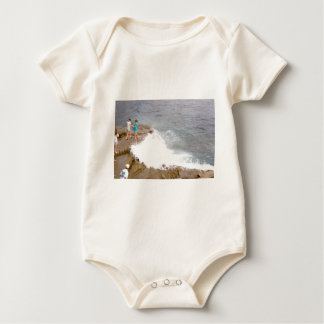Catching the Waves Rompers
