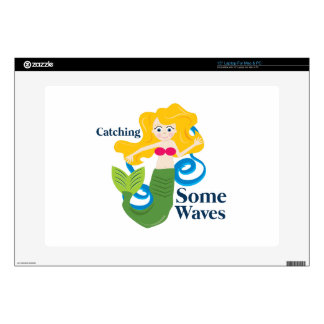 "Catching Waves 15"" Laptop Decals"