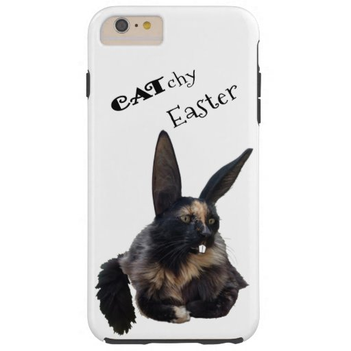CATchy Easter ❣️ 😻 🐰 🐣 🐥 🍀 Tough iPhone 6 Plus Case