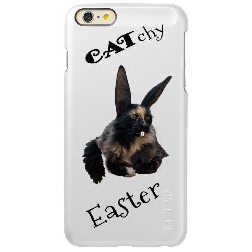 CATchy Easter ❣️ 😻 🐰 🐣 🐥 🍀 Incipio Feather Shine iPhone 6 Plus Case
