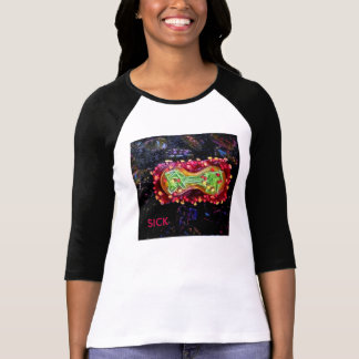 Catchy Virus T-Shirts for Women- Smallpox