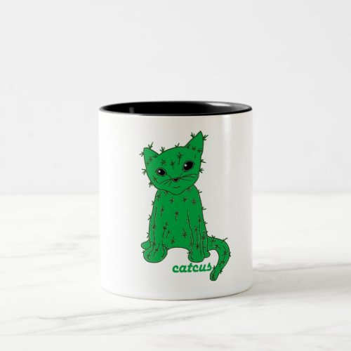 Catcus the mug for cactus and cat fans