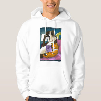 Catdependency (Cats Who Love Too Much) Funny Hoodi Hooded Pullover