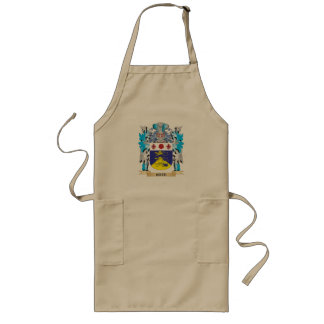 Cate Coat of Arms - Family Crest Long Apron