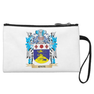 Cate Coat of Arms - Family Crest Wristlet Clutch