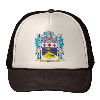Cate Coat of Arms - Family Crest Trucker Hats