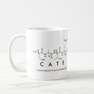 Cate peptide name mug