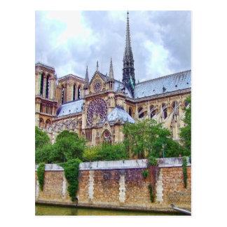 Catedral 2 de Notre-Dame Tarjeta Postal