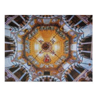 Catedral Aachen- tarjeta postal