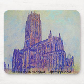 Catedral anglicana Liverpool de Colin Carr-Nall Alfombrilla De Ratón