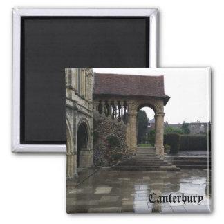 Catedral - Cantorbery Imán Cuadrado