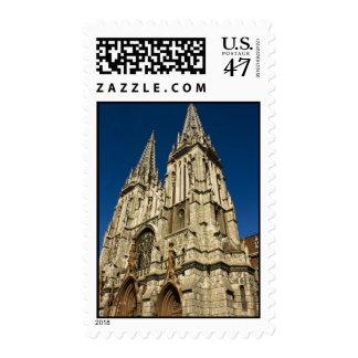 Catedral católica de San Nicolás en Kyiv, Ukr Sello Postal