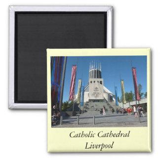 Catedral católica - Liverpool Imán De Nevera