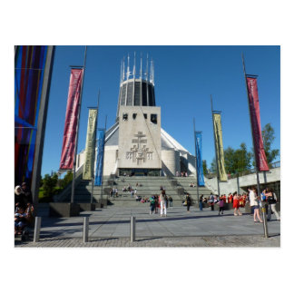 Catedral católica - Liverpool Tarjetas Postales