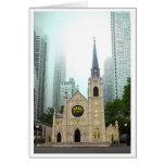 Catedral conocida santa tarjetón