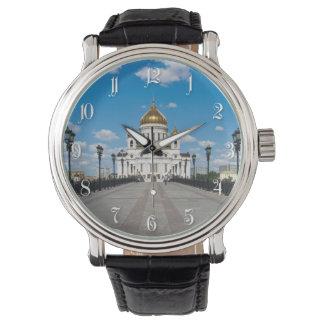 Catedral Cristo el salvador en Moscú Relojes De Pulsera