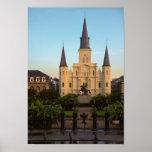 Catedral cuadrada New Orleans de Jackson St. Louis Impresiones