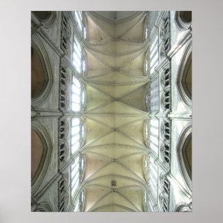 Catedral de Amiens Póster