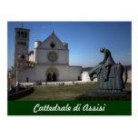 Catedral de Assisi (italiano: Di Assisi de Postal