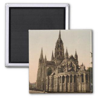 Catedral de Bayeux, Bayeux, Francia Imán Cuadrado