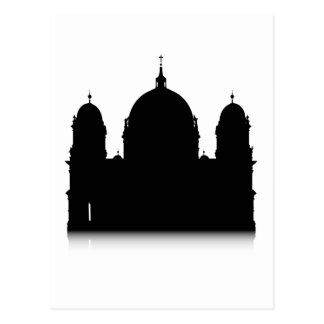 Catedral de Berlín Tarjeta Postal