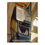 Catedral de Blackburn, postal BRITÁNICA