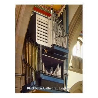 Catedral de Blackburn postal BRITÁNICA