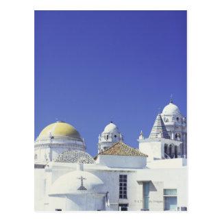 Catedral de Cádiz en Cádiz, España Postal