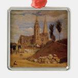 Catedral de Camilo Corot- Chartres Adornos