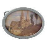 Catedral de Camilo Corot- Chartres Hebillas De Cinturon