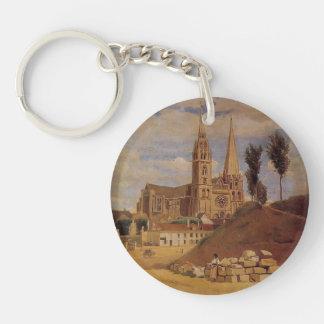 Catedral de Camilo Corot- Chartres Llaveros