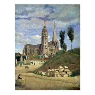 Catedral de Chartres, 1830 Postales