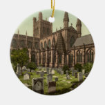 Catedral de Chester, Cheshire, Inglaterra Ornaments Para Arbol De Navidad
