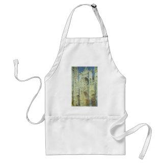 Catedral de Claude Monet, bella arte de Ruán del Delantal
