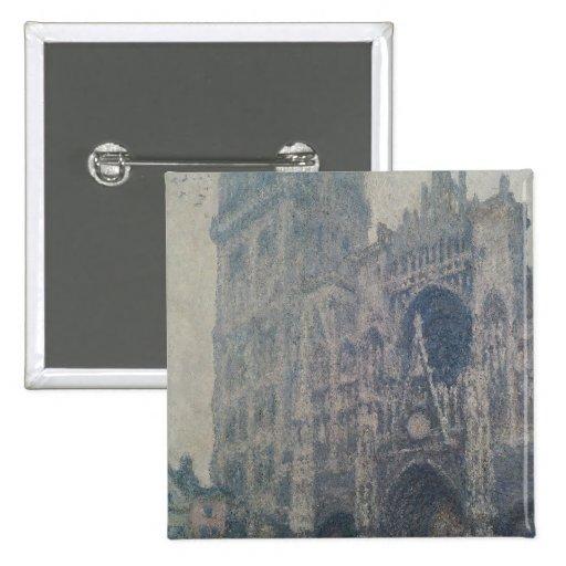 Catedral de Claude Monet el | Ruán, al oeste Pin Cuadrado