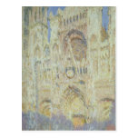 Catedral de Claude Monet el | Ruán en la puesta Postal
