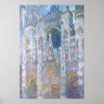 Catedral de Claude Monet el | Ruán Póster