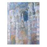 Catedral de Claude Monet el | Ruán Tarjeta Postal