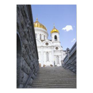 """Catedral de Cristo el salvador Invitación 5"""" X 7"""""""