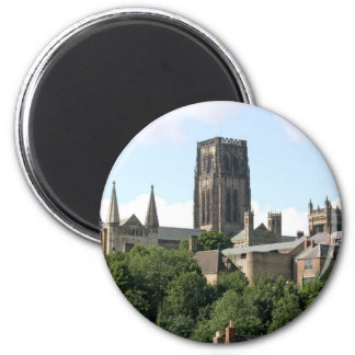 Catedral de Durham Imán Redondo 5 Cm