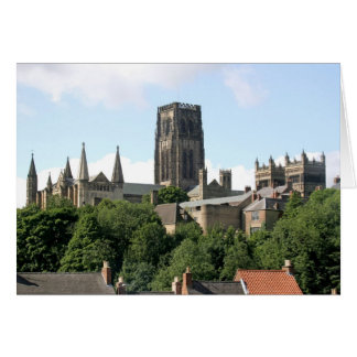 Catedral de Durham Tarjeta De Felicitación