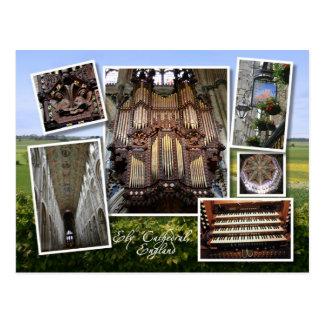 Catedral de Ely, postal BRITÁNICA