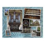 Catedral de Exeter, Reino Unido - postal del monta