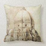Catedral de Florencia del este, de 'fragmentos Cojín Decorativo